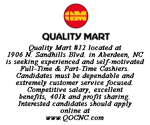 Quality Mart help wanted august