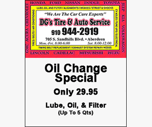 DGs Tire Auto - Call (910) 944-2919