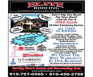 Elite Roofing - Call (910) 757-0505