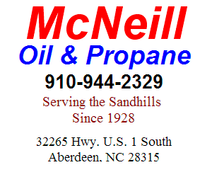 McNeill Oil - Call (910) 944-2329