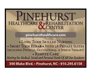 Pinehurst Heathcare Rehab 300x250