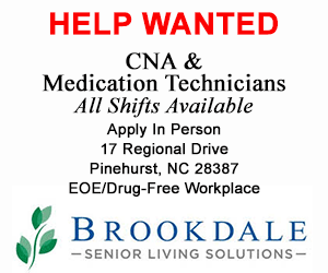 1 24 17 Brookdale Pinehurst Help Wanted